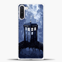 Load image into Gallery viewer, Tardis Jungle Samsung Galaxy Note 10 Case, White Plastic Case | casedilegna.com