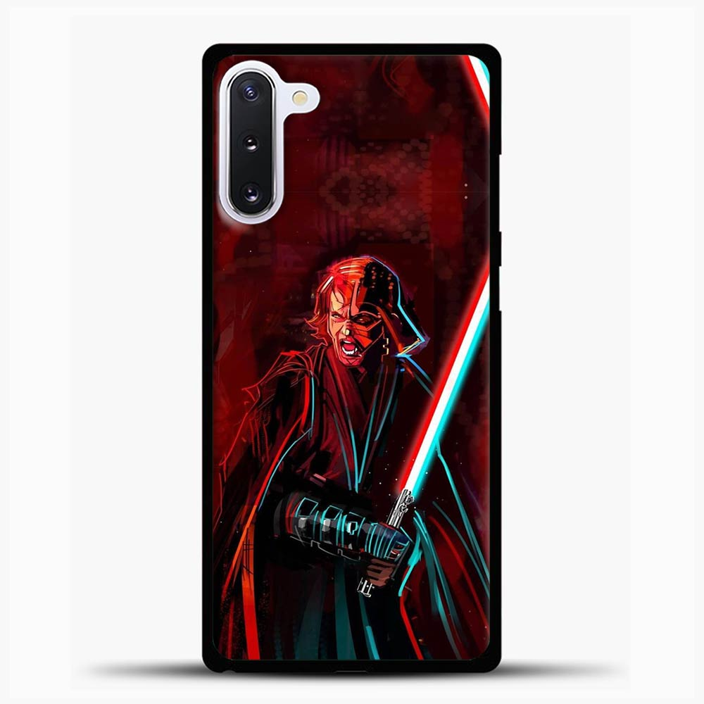 The Chosen Sword Blue Red Light Samsung Galaxy Note 10 Case