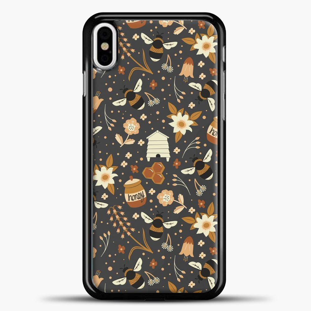 The Honey Factory iPhone Case, Black Plastic Case | casedilegna.com