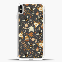 Load image into Gallery viewer, The Honey Factory iPhone Case, White Plastic Case | casedilegna.com