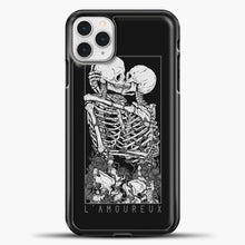 Load image into Gallery viewer, The Lovers Relaxed iPhone 11 Pro Case, Black Plastic Case | casedilegna.com