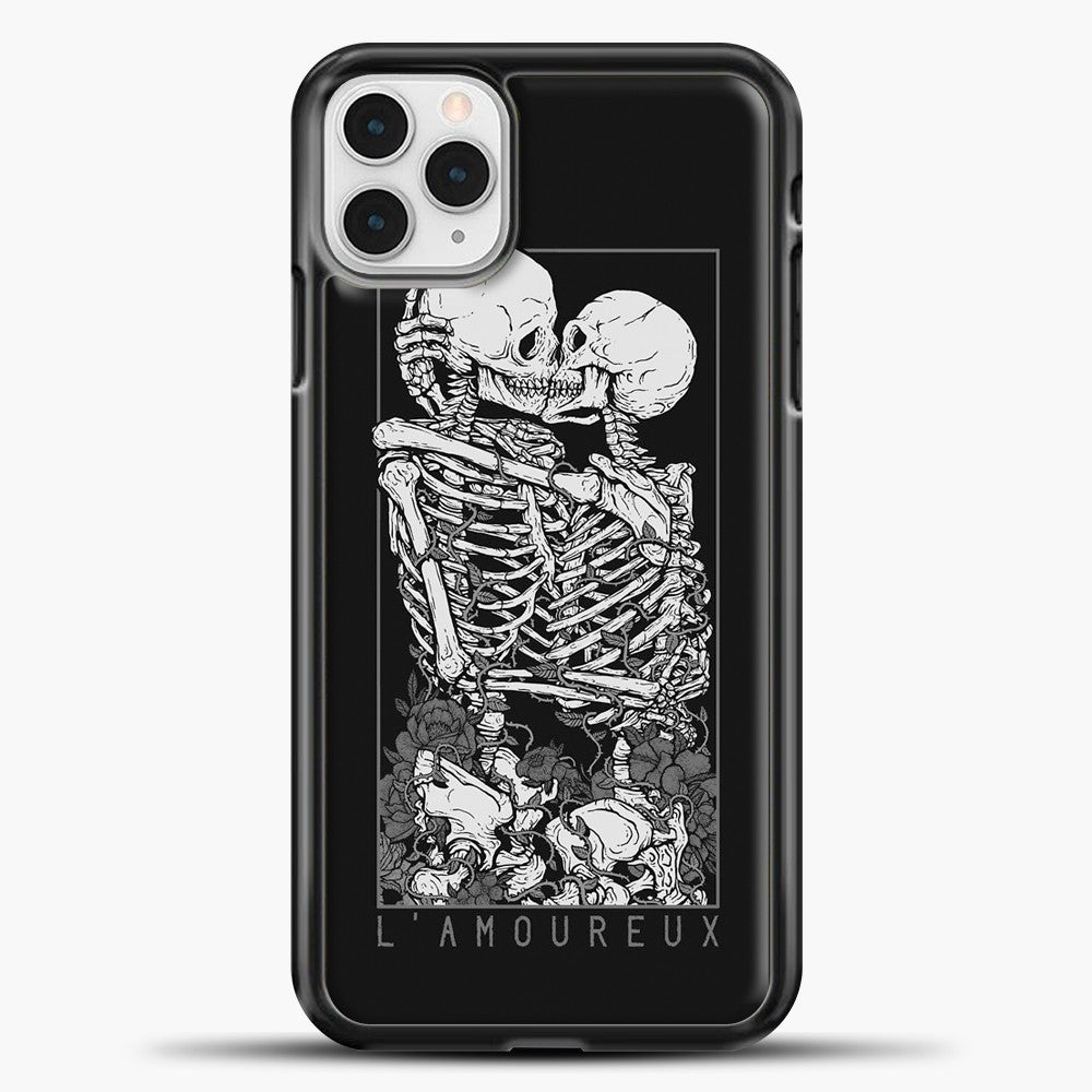 The Lovers Relaxed iPhone 11 Pro Case, Black Plastic Case | casedilegna.com