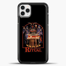Load image into Gallery viewer, The Morning Ritual iPhone 11 Pro Case, Black Plastic Case | casedilegna.com