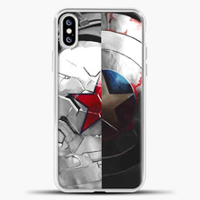 Load image into Gallery viewer, The Shield And The Soldier iPhone XS Case
