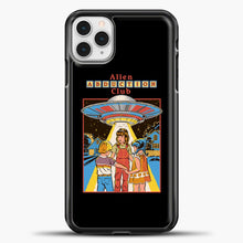 Load image into Gallery viewer, Three Friends And Intergalactic Travel iPhone 11 Pro Case, Black Plastic Case | casedilegna.com