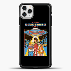 Three Friends And Intergalactic Travel iPhone 11 Pro Case, Black Plastic Case | casedilegna.com