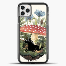 Load image into Gallery viewer, Tiny Unicorn iPhone 11 Pro Case, Black Plastic Case | casedilegna.com