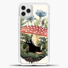 Load image into Gallery viewer, Tiny Unicorn iPhone 11 Pro Case, White Plastic Case | casedilegna.com