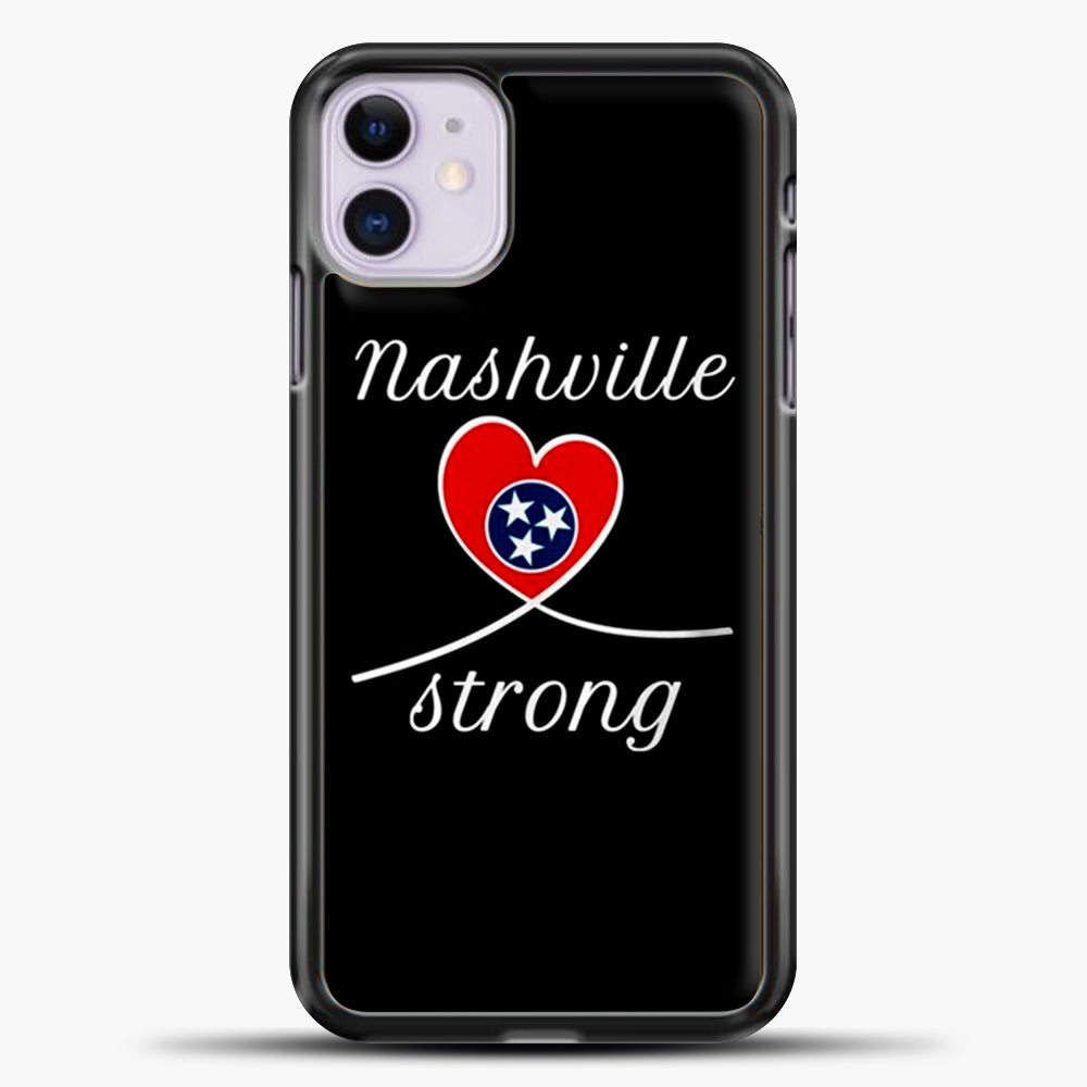 Tornado Nashville Strong I Believe In Tennessee Case iPhone 11 Case, Plastic Case