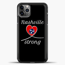 Load image into Gallery viewer, Tornado Nashville Strong I Believe In Tennessee Case iPhone 11 Pro Max Case, Plastic Case