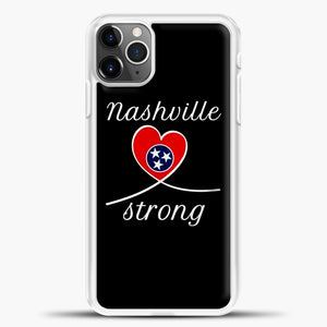 Tornado Nashville Strong I Believe In Tennessee Case iPhone 11 Pro Max Case, Rubber Case