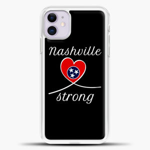 Tornado Nashville Strong I Believe In Tennessee Case iPhone 11 Case, Rubber Case