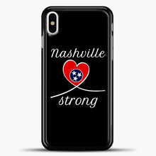Load image into Gallery viewer, Tornado Nashville Strong I Believe In Tennessee Case iPhone X Case, Plastic Case