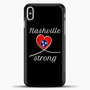 Tornado Nashville Strong I Believe In Tennessee Case iPhone X Case, Plastic Case