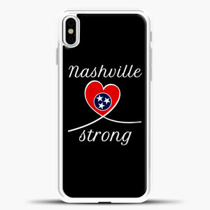 Tornado Nashville Strong I Believe In Tennessee Case iPhone X Case, Rubber Case