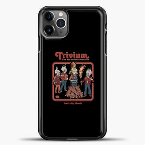 Trivium The Sin And The Sentence iPhone 11 Pro Max Case, Black Plastic Case | casedilegna.com