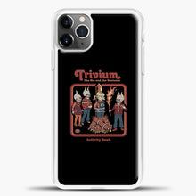 Load image into Gallery viewer, Trivium The Sin And The Sentence iPhone 11 Pro Max Case, White Plastic Case | casedilegna.com
