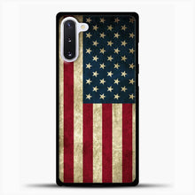 Load image into Gallery viewer, Vintage American Flag Samsung Galaxy Note 10 Case