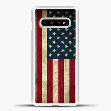 Load image into Gallery viewer, Vintage American Flag Samsung Galaxy S10e Case