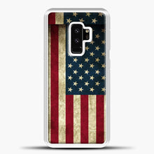 Load image into Gallery viewer, Vintage American Flag Samsung Galaxy S9 Plus Case