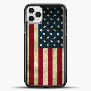 Vintage American Flag iPhone 11 Pro Case