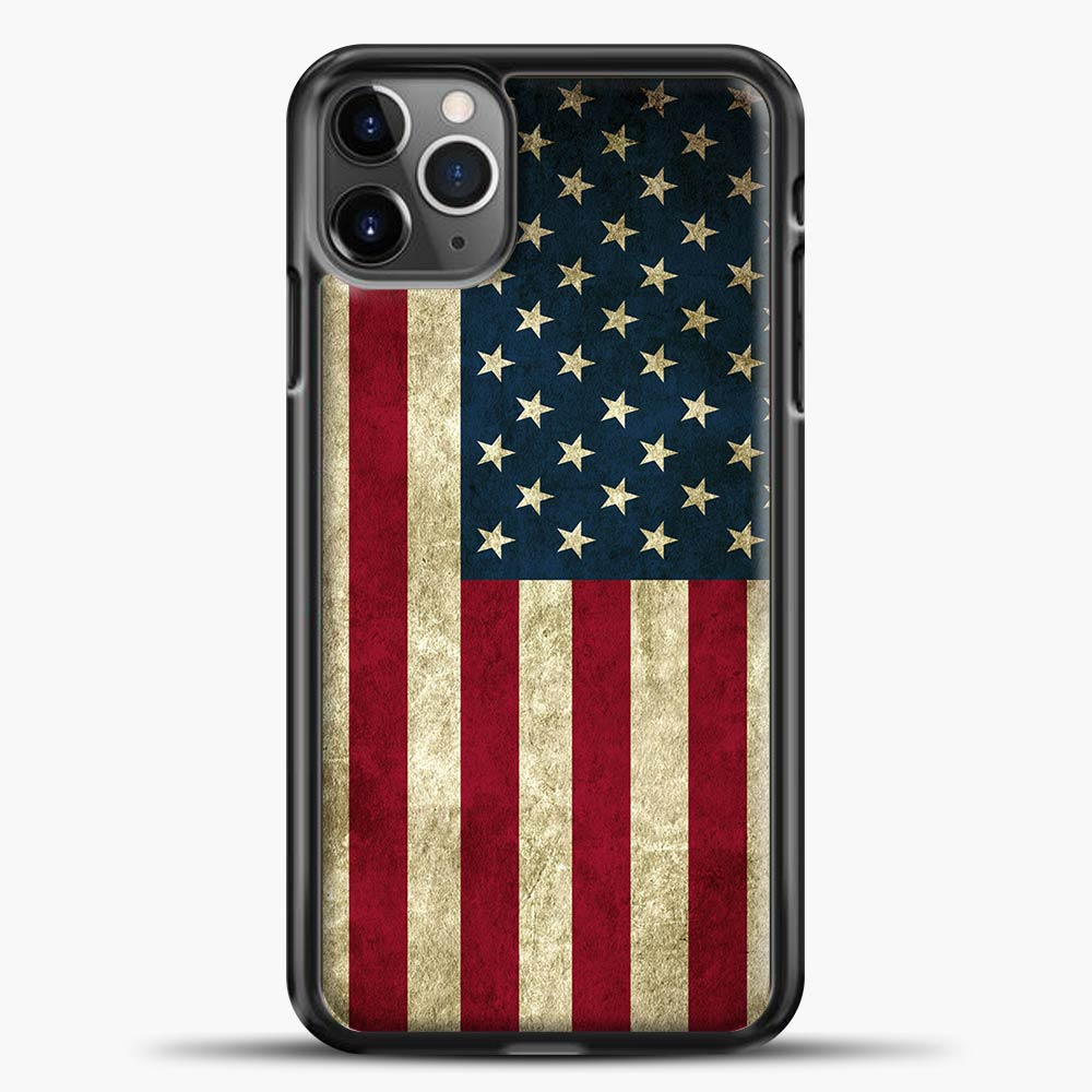 Vintage American Flag iPhone 11 Pro Max Case