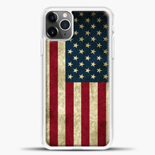 Load image into Gallery viewer, Vintage American Flag iPhone 11 Pro Max Case