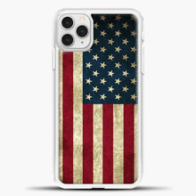 Load image into Gallery viewer, Vintage American Flag iPhone 11 Pro Case
