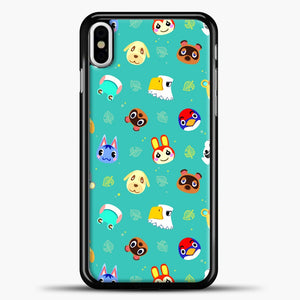 Walmart Animal Crossing New Horizons iPhone X Case, Black Plastic Case | casedilegna.com