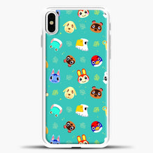 Load image into Gallery viewer, Walmart Animal Crossing New Horizons iPhone X Case, White Plastic Case | casedilegna.com