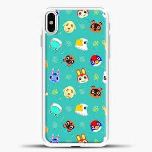 Walmart Animal Crossing New Horizons iPhone X Case, White Plastic Case | casedilegna.com