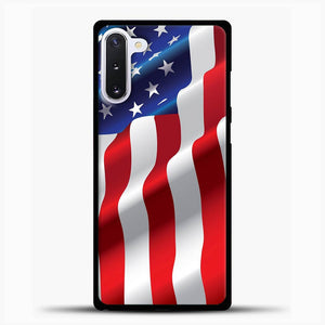 Wave American Flag Samsung Galaxy Note 10 Case