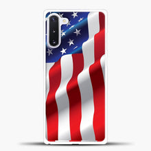 Load image into Gallery viewer, Wave American Flag Samsung Galaxy Note 10 Case