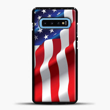 Load image into Gallery viewer, Wave American Flag Samsung Galaxy S10 Case