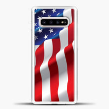 Load image into Gallery viewer, Wave American Flag Samsung Galaxy S10e Case