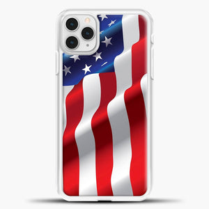 Wave American Flag iPhone 11 Pro Case