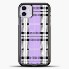 Load image into Gallery viewer, Wildflower Purple Plaid Phone Case iPhone 11 Case