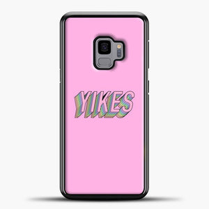 Yikes Colorful Image Samsung Galaxy S9 Case, Black Plastic Case | casedilegna.com