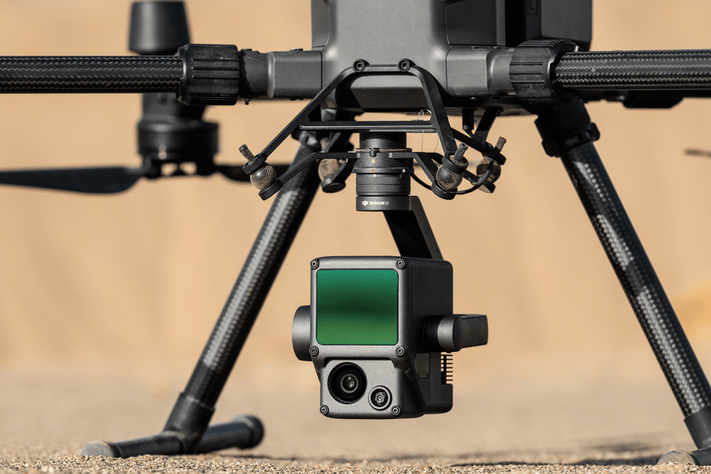 DJI Unveils First Integrated LiDAR Solution for M300 RTK