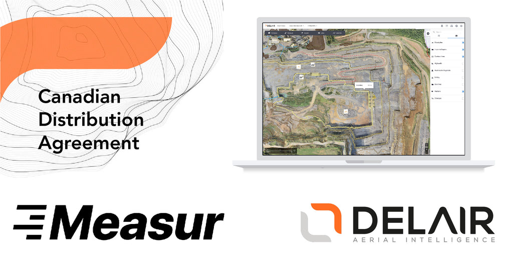 MEASUR SIGNS CANADIAN DISTRIBUTION AGREEMENT WITH DELAIR AERIAL INTELLIGENCE