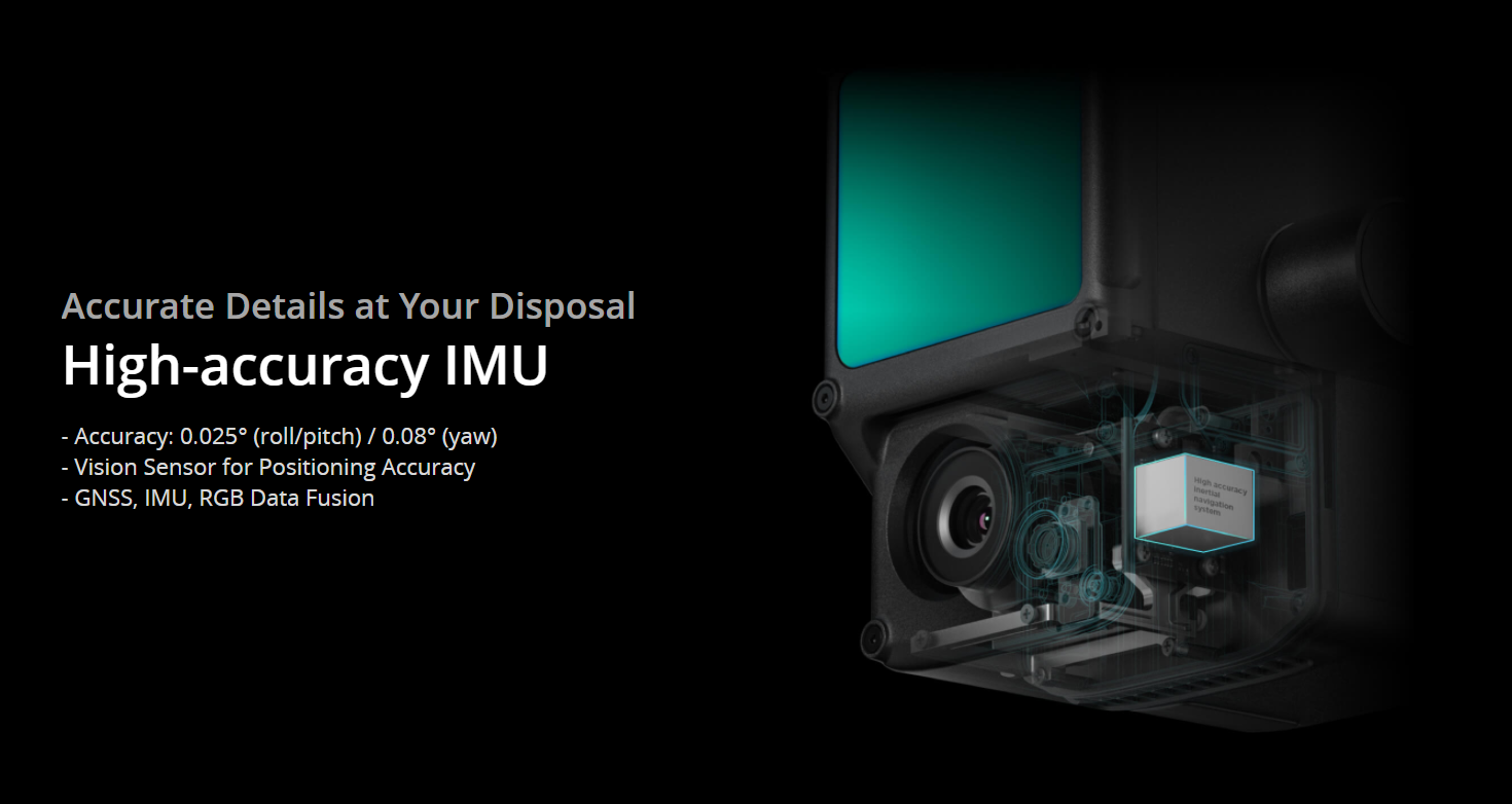 Zenmuse L1 High-Accuracy IMU