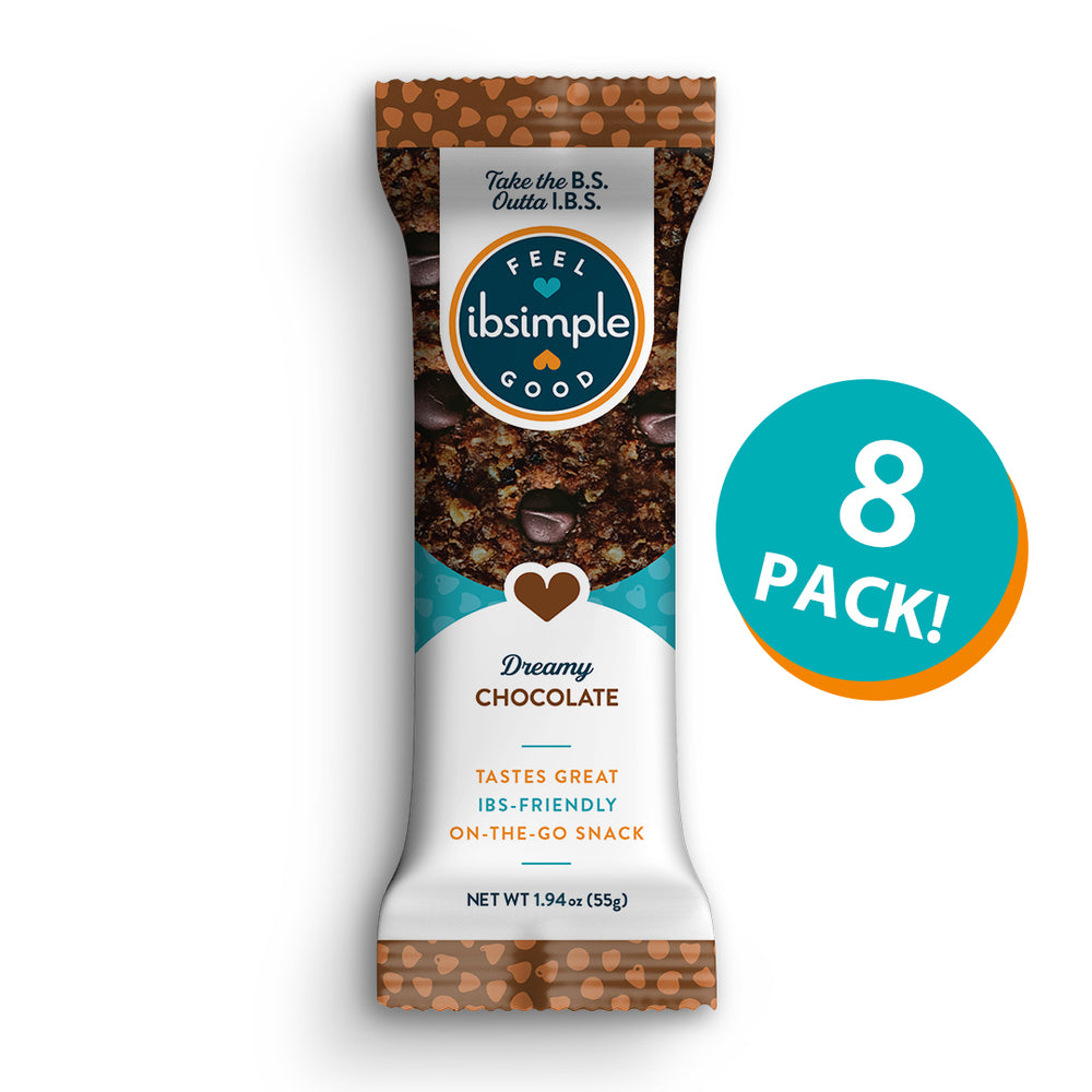 ibsimple DREAMY CHOCOLATE Bars (Click for Ingredients)