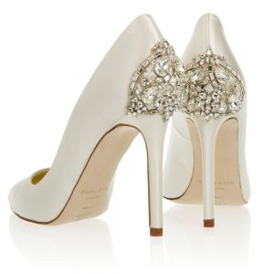 Freya Rose Empire wedding shoes with swarovski crystals