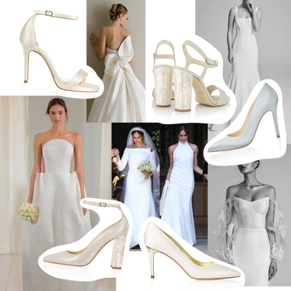Collage of Classic Bridal Trends