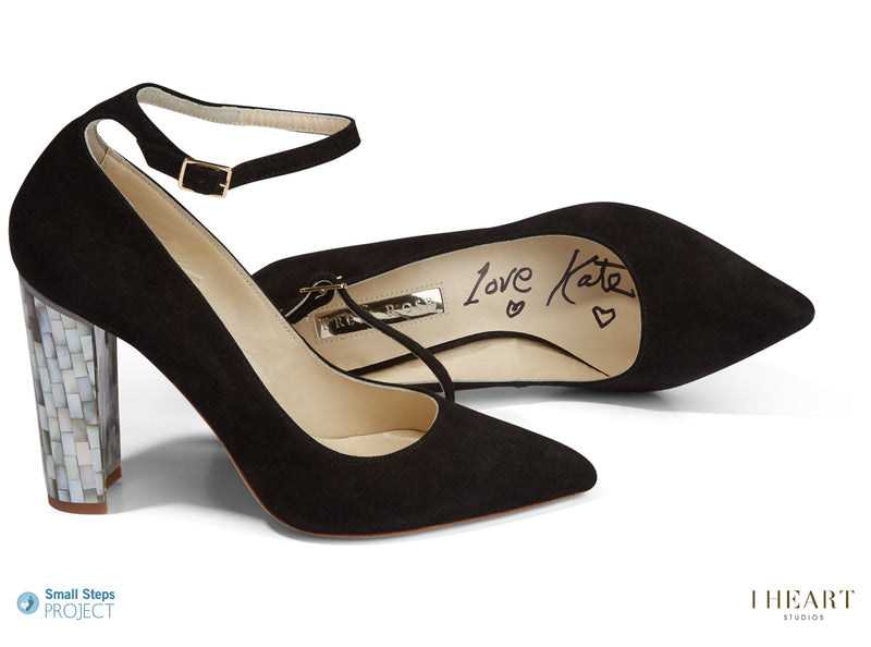 Kate Moss donates her Freya Rose shoes to celebrity shoe auction