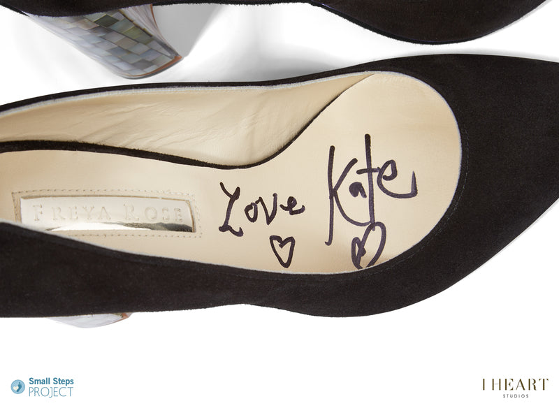 Kate Moss donates Freya Rose shoes to celebrity shoe auction