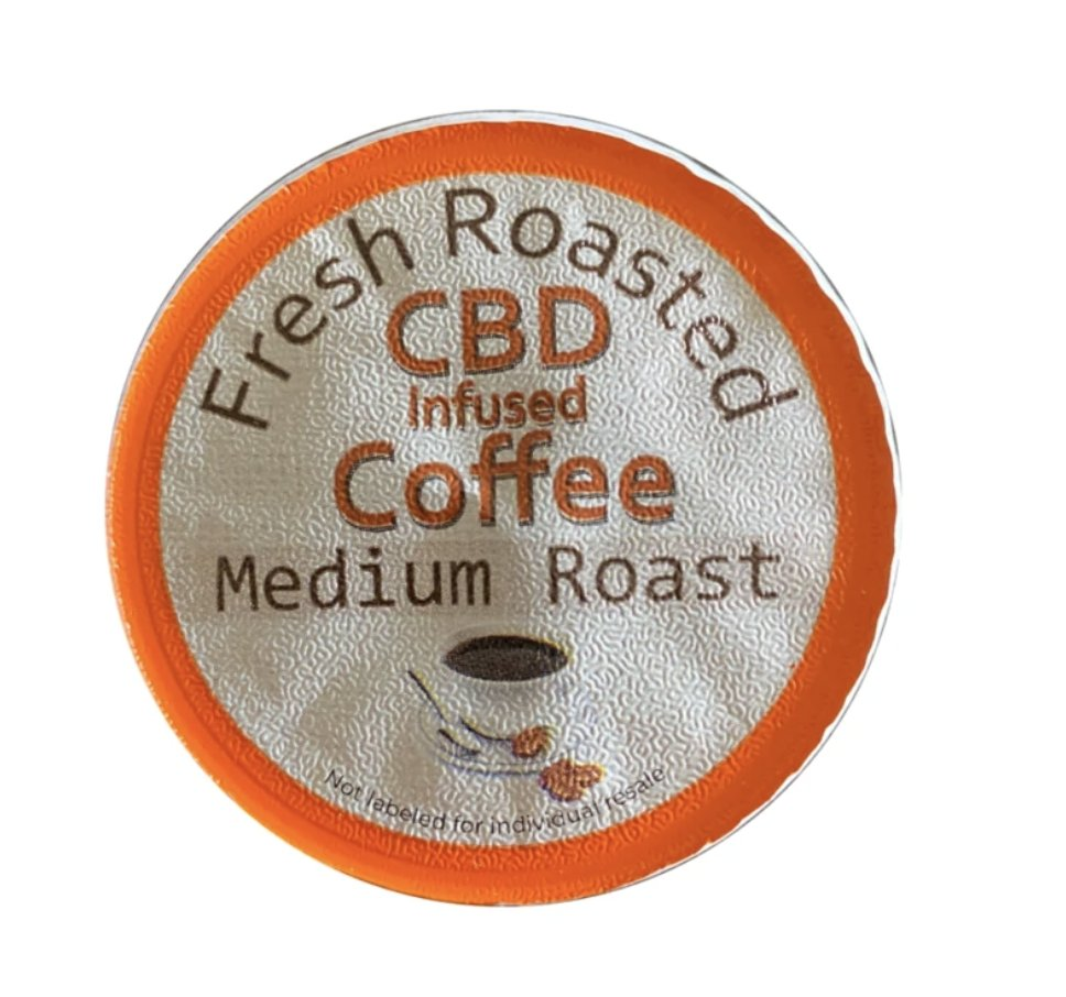 DEEP STATE ROAST 180mg CBD Coffee - Organic (6 K-CUPS) - THE PATRIOT CAFÉ