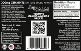 """KEEP CALM"" CBD Breath Mints in Trump Tin (300mg)* - THE PATRIOT CAFÉ"