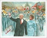 Signed By President Trump - Inauguration Commemorative Print - THE PATRIOT CAFÉ