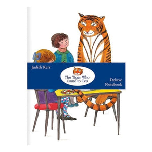 A5 Notebook - The Tiger Who Came to Tea